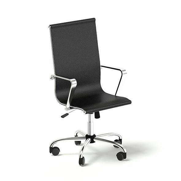 Black Swivel Chair 3D Model - 3DOcean Item for Sale