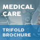 Medical Care Trifold Brochure - GraphicRiver Item for Sale