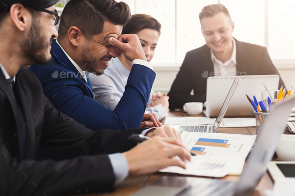 Business meeting. Businesspeople in modern office - Stock Photo - Images
