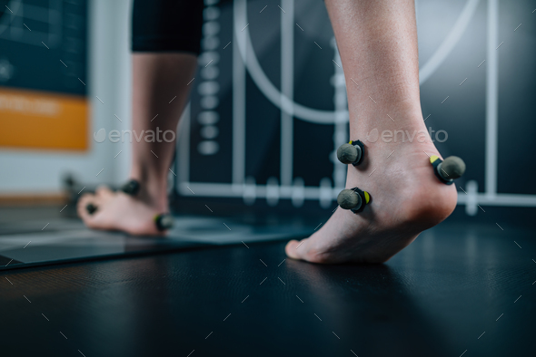 2d and 3d posture analysis - Stock Photo - Images