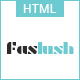 Faslush - A Modern & Minimalistic eCommerce HTML5 Template - ThemeForest Item for Sale