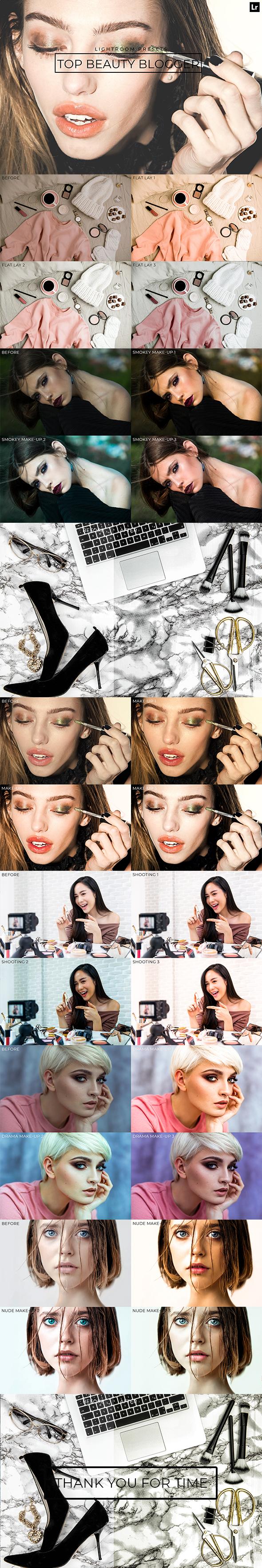 Top Beauty Blogger Lightroom Presets - Lightroom Presets Add-ons