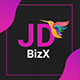 JD BizX - Creative One Page Multipurpose Joomla Template