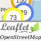 Leaflet OpenStreetMap, server side markers clustering php script
