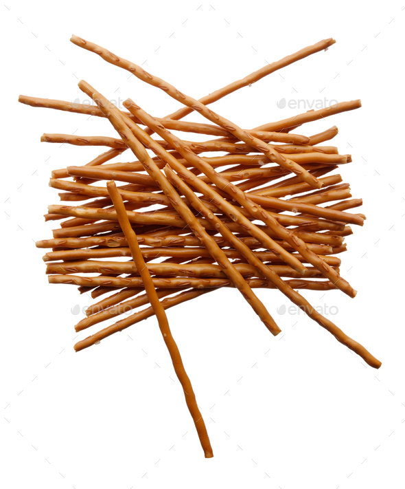 Salted bread sticks - Stock Photo - Images