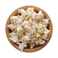 Popcorn in a wooden bowl - PhotoDune Item for Sale