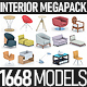 Interior Furniture Collection - 1668 Products MEGAPACK