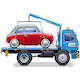 Vector Tow Truck with Automobile - GraphicRiver Item for Sale