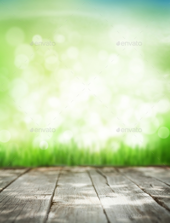 Abstract sunny summer background - Stock Photo - Images