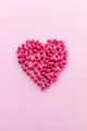Pink Pasta in Heart Shape - PhotoDune Item for Sale