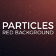 Particles Red Background - VideoHive Item for Sale