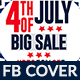 4th of July Facebook Cover - 3 Design- Image Included - GraphicRiver Item for Sale