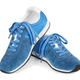 Blue running shoes - PhotoDune Item for Sale