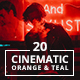 20 Cinematic Orange and teal Lightroom Presets - GraphicRiver Item for Sale