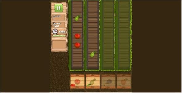 Fruit Gardener - HTML5 Game - CodeCanyon Item for Sale