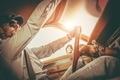 Gentleman in the Classic Car - PhotoDune Item for Sale