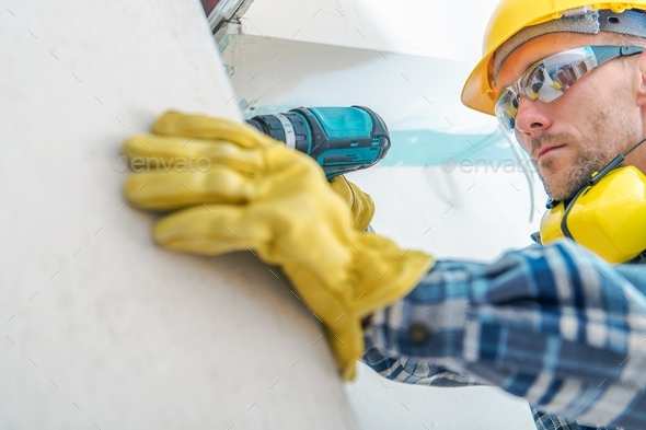 Contractor Remodeling Job - Stock Photo - Images