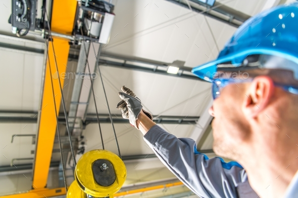 Warehouse Lift Operator - Stock Photo - Images