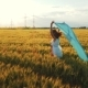 Girl with the Blue Shawl - VideoHive Item for Sale