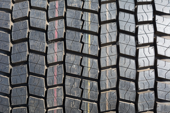 Truck tire texture background - Stock Photo - Images