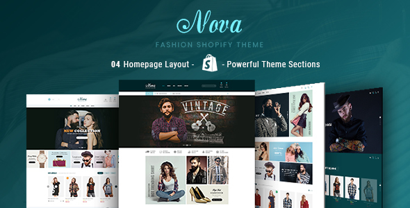 Image of Nova - Fashion, Clothing & Accessories Shopify Theme