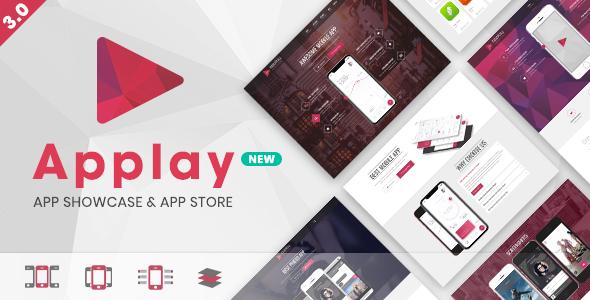 Applay - WordPress App Showcase & App Store Theme - Software Technology