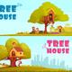 Tree House Children Horizontal Banners