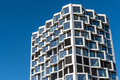 Facade of modern high-rise residential building - PhotoDune Item for Sale