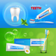Tooth Dental Realistic Banners