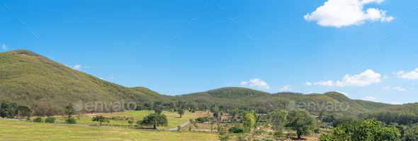Panorama landscape view of mountain agent blue sky_-5 - Stock Photo - Images