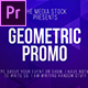 Geometric Title & Lower thirds - VideoHive Item for Sale