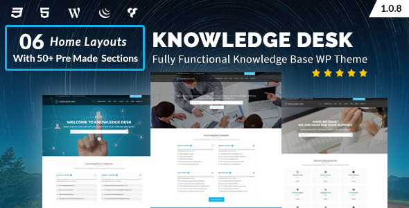 Image of Knowledgedesk - Knowledge Base WordPress Theme