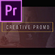 Creative Promo - VideoHive Item for Sale