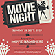Movie Night Flyer Templates - GraphicRiver Item for Sale