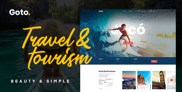 Goto - Tour & Travel WordPress Theme - Travel Retail