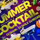 Summer Cocktail Flyer