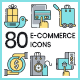 Ecommerce Icons - GraphicRiver Item for Sale