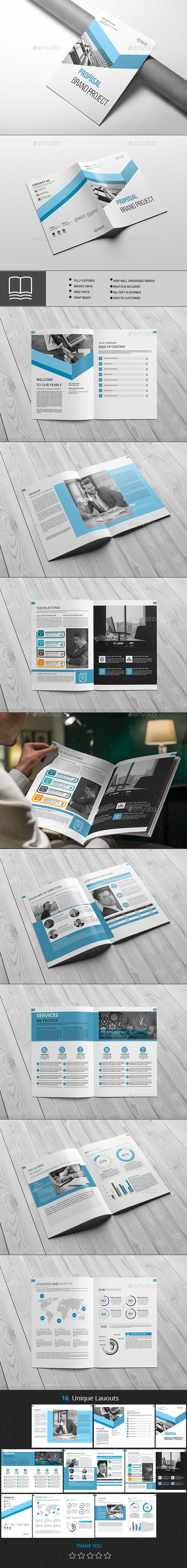 Proposal - Brochures Print Templates