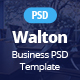 Walton Business & Corporate Template - ThemeForest Item for Sale