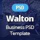 Walton Business & Corporate Template - ThemeForest Item for Sale