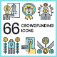Crowdfunding Icons - GraphicRiver Item for Sale