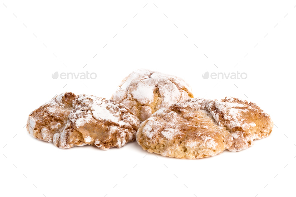 Sicilian Almond Pastries - Stock Photo - Images