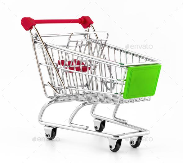 Italian shopping cart - Stock Photo - Images