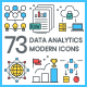 Data Analytics Icons - Modern - GraphicRiver Item for Sale