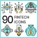 Fintech Icons - GraphicRiver Item for Sale