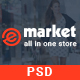 eMarket - Modern Multi-Purpose eCommerce PSD Template