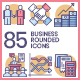 Business Icons - Rounded - GraphicRiver Item for Sale