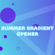 Summer Gradient Opener - VideoHive Item for Sale
