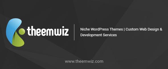 Theemwiz themeforest profile banner