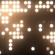 Gold Led Spot Light VJ Background - VideoHive Item for Sale